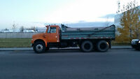 Gravel Dump Truck for Sale