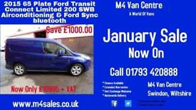 Ford Transit Connect 200 LIMITED SWB WITH A/C