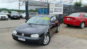 2004 Volkswagen Golf 1.6 Generation Black 4 Speed Automatic Hatchback Ravenhall Melton Area Preview