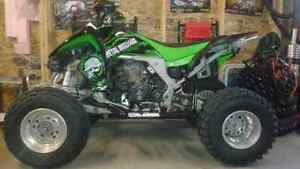 2008 KFX450R MINT.NEEDS NOTHING.FAST QUAD w/ REVERSE