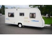 Bailey Ranger 460/4 4 Berth Caravan