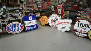 LARGE VINTAGE STYLE FORD  CHEVY AND DODGE SERVICE SIGNS