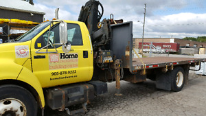 F650 Boom Truck for sale 2002, Price Reduced