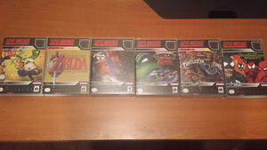 SNES games with custom cases