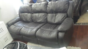 Forest Green Couch and Love Seat Edmonton Edmonton Area image 2