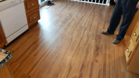 Vinyl Plank, Laminate, Wood Installation.