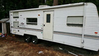 26 ft travel trailer