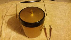 Retro Gold Ice Bucket