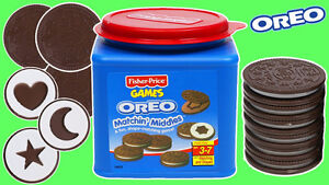 OREOS OREOS Matchin' Middles Cookie Game Fisher Price MINT!