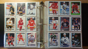 Collection de cartes de hockey cards collection