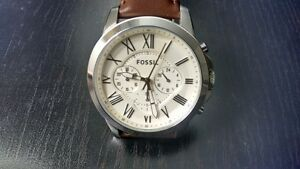 Fossil Men's  Analog  Brown Watch