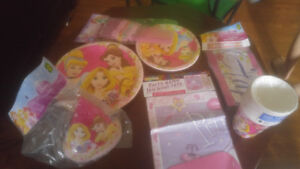 All new princess party lot