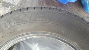 Selling set of 4 near new summer  tires Michelin  185/65/14