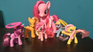 My Little Pony Lot Pinkie Pie, Applejack and more
