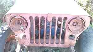 Cj MB m38 army Jeep grill 's from 1946 - 1971 CJ2a Cornwall Ontario image 3