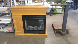 Electric Central Fireplace