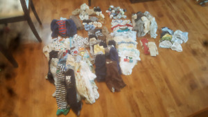 Infant clothing (boy) 120 pieces