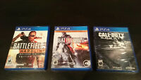 PS4 games for sale!  - Excellent Condition!
