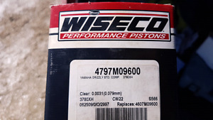 NEW grizzly 700 wiseco piston
