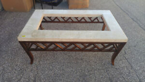 Marble Coffee table and end table for sale $50 for both