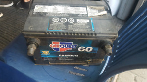 Top and SIDE POST batteries for sale fully charged 30 to 50