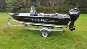 2015 Lund Fury 1400 SS Mercury 30HP  Brand New!!