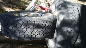 Sell 4 winter tire goodyear LT 245/75/16