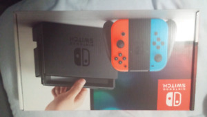 Nintendo Switch Brand New Sealed in Box with Receipt