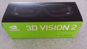 NEW NVIDIA 3D Vision 2 Wireless 3D Glasses IN BOX