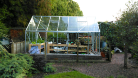 Small & larger glasshouses for sale