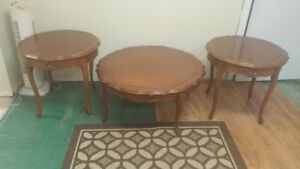 French Side Table & Coffee table