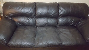 Free In Tweed. 3 piece Couch set. pick up only