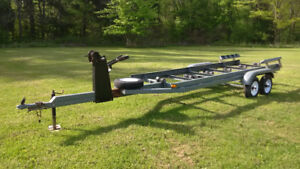 Tandem Axle Boat Trailer w/New Wheels & Tires