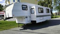 Roulotte Fifth Wheel Terry 1997 Nég.