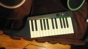 Rock band 3 keyboard and drums xbox 360