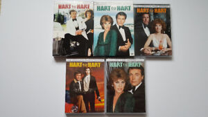 Hart to Hart, The Complete Series, Season 1-5 on DVD