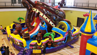 Playmania's  INFLATABLES, BOUNCY CASTLES FOAM FUN, DUNK TANKS,