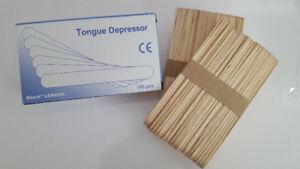 $1.99 [Box of 100] Waxing Sticks Spatulas & Waxing Strips!