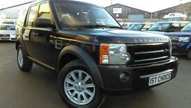 2007 LAND ROVER DISCOVERY 3 TDV6 SE LOVELY BUCKINGHAM BLUE WITH CREAM LEATHER