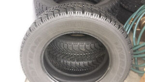 215 65 R16 Goodyear Nordic Winter Tires For Sale Nice Condition