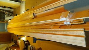 Solid Pre-Finished Oak Baseboard and Door Trim