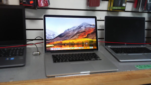 "Macbook pro late 2013 15"" retina, core i7, 16GB, 265GB SSD Mojav"