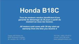 Honda Acura B18C Moteur - Integra GSR - 95, 96, 97, 98, 99