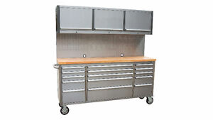 NEW STAINLESS STEEL TOOL CABINETS PROFESSIONAL DRAWERS, TROLLY