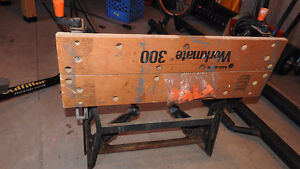 Workmate 300 work bench rusty but stands strong
