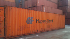 Used Storage and Shipping Containers FOR SALE - 40' and 20' long