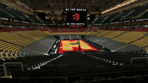 Raptors tickets - game 5 lower bowl $550 for pair