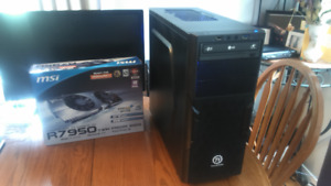 newly built custom gaming pc console killer performance