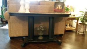 Chalk Painted Sofa Table