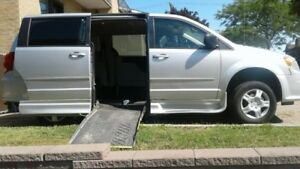 2011 Dodge Grand Caravan Minivan, Van Wheelchair Ramp Adapted